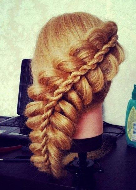 Плетение кос на