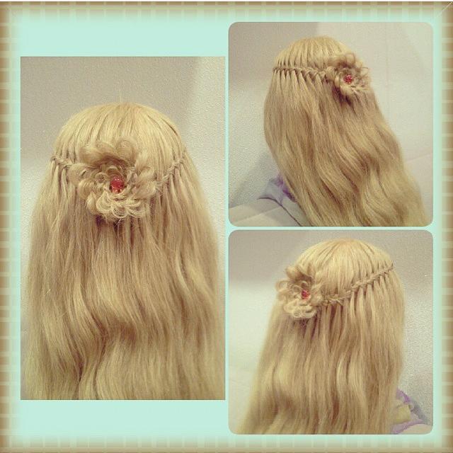 Плетение кос и причесок самой себе