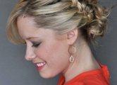 Фотографии косичек на средние волосы