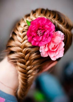 Фото и картинки французских кос