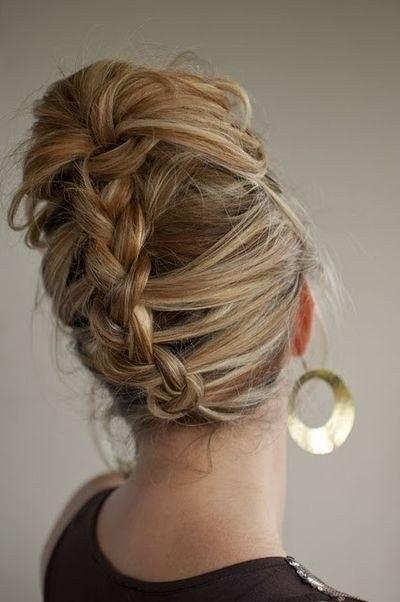 Картинки кос на короткие волосы - 38