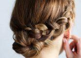 Косички на средние волосы, фото