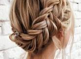 Косы на средние волосы, фото