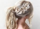 Хвост с косой: фото