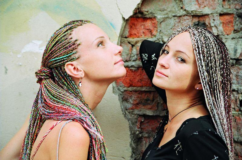 Виды афрокосичек