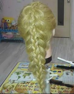 Двойная коса или коса на косе