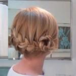 Причёски из кос на каждый день
