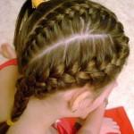 Французские косы для девочек