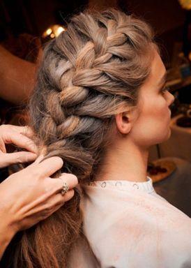 Французская коса пошаговая инструкция