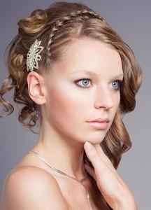 Французская коса ободок
