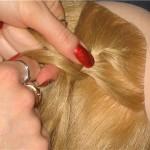 Как плести косу колосок