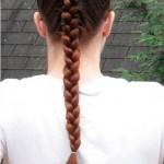 Как сделать французскую косу