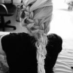 Как плести косу дракончик