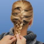 Схема плетения косы дракончик