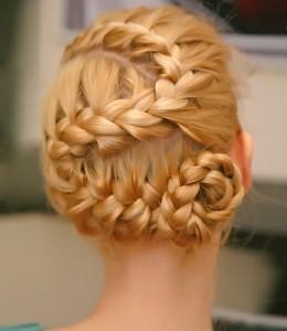 Как заплести косу зигзаг
