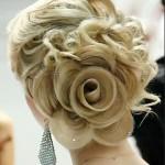 Цветы из кос