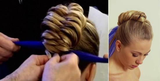 Видео плетение кос Лино Руссо