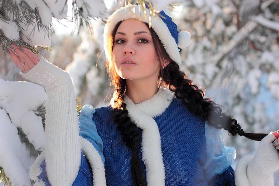 Коса Снегурочки