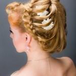 Прическа воздушная коса