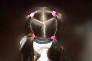 Как плести косу сердечком