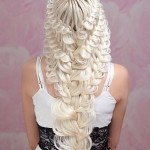 Плетение кружевных кос