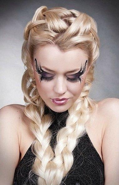 Прически с длинной косой