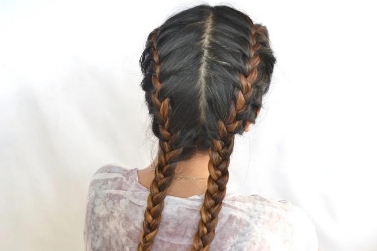Как быстро заплести красивую косу