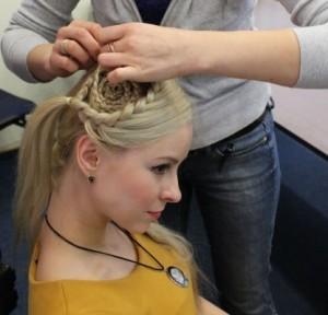 Как заплести косу улитку - фото инструкция
