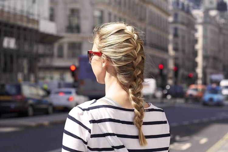 Французская коса или колосок