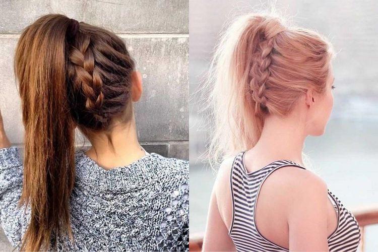 Как красиво заплести косу себе