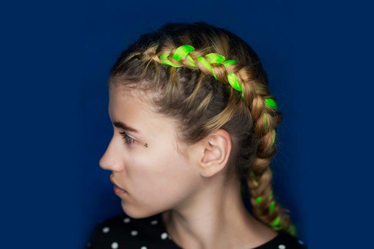 Как называются цветные волосы для кос