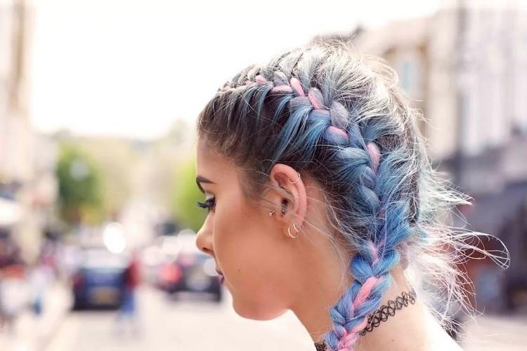 Как называются цветные волосы для косичек