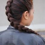 Как самой себе заплести объемную косу