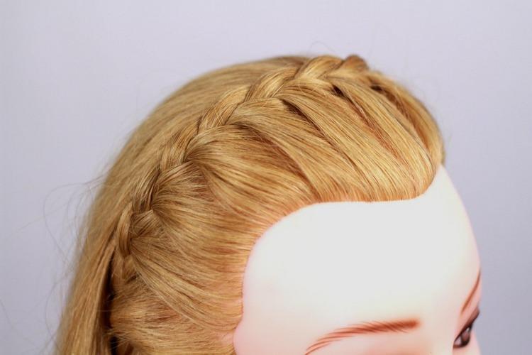 Как заплести быстро красивую косу