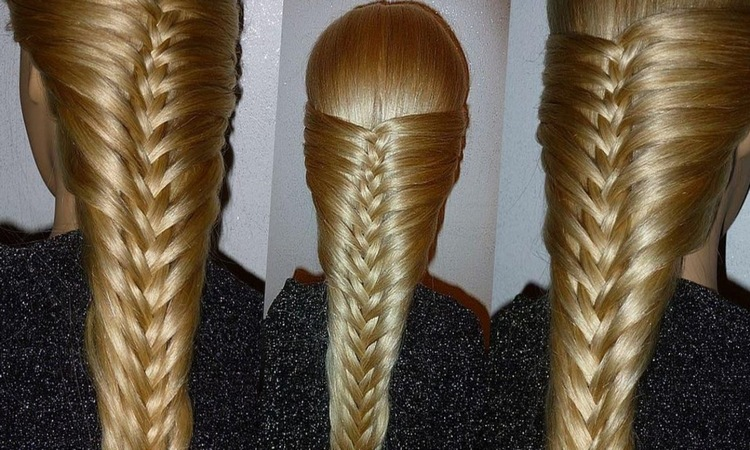 Как заплести двойную косу
