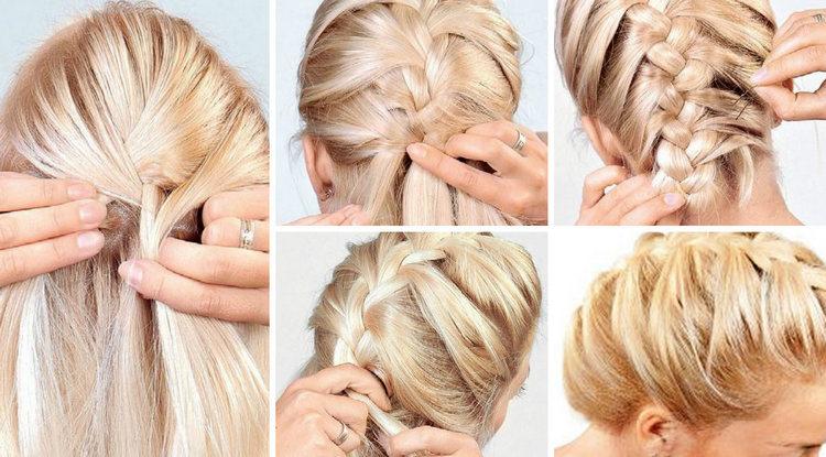 Как заплести себе косу