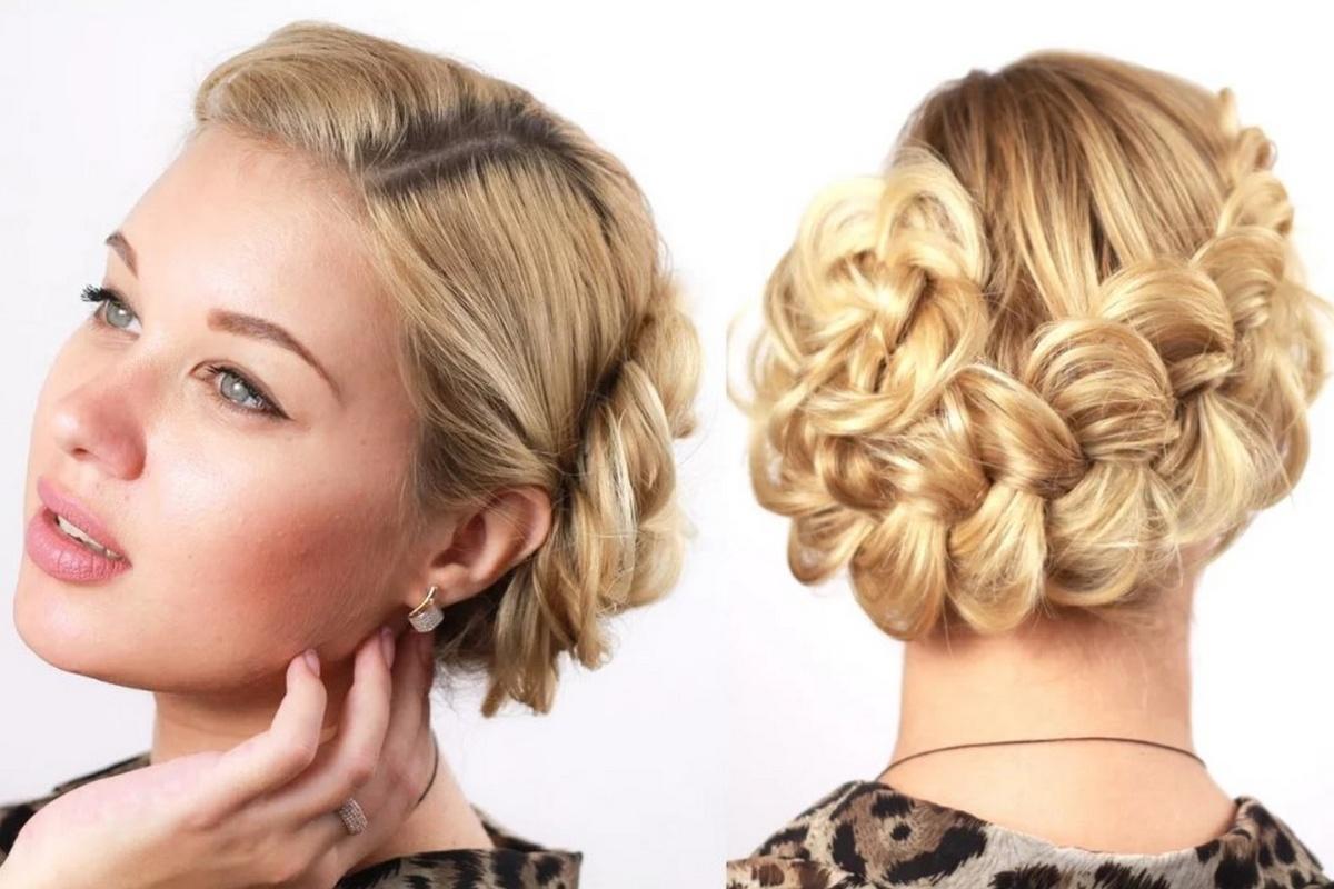 Косы на средние волосы: инструкция