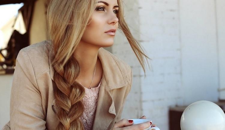 Небрежная коса: фото