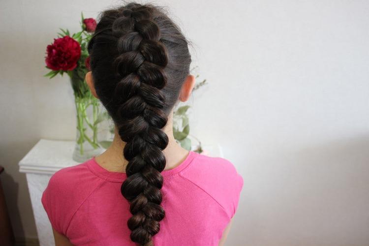 Плетение кос легко и быстро
