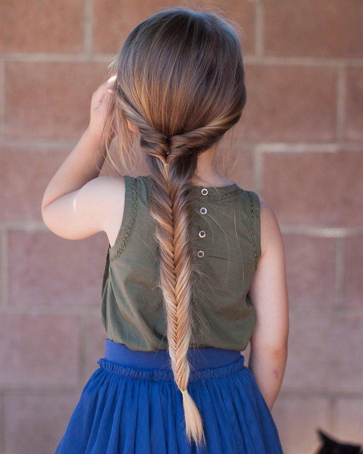 Плетение кос на Новый Год для девочки