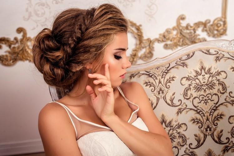 Плетение свадебных кос по видео