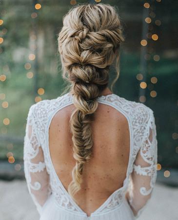 Свадебные косички