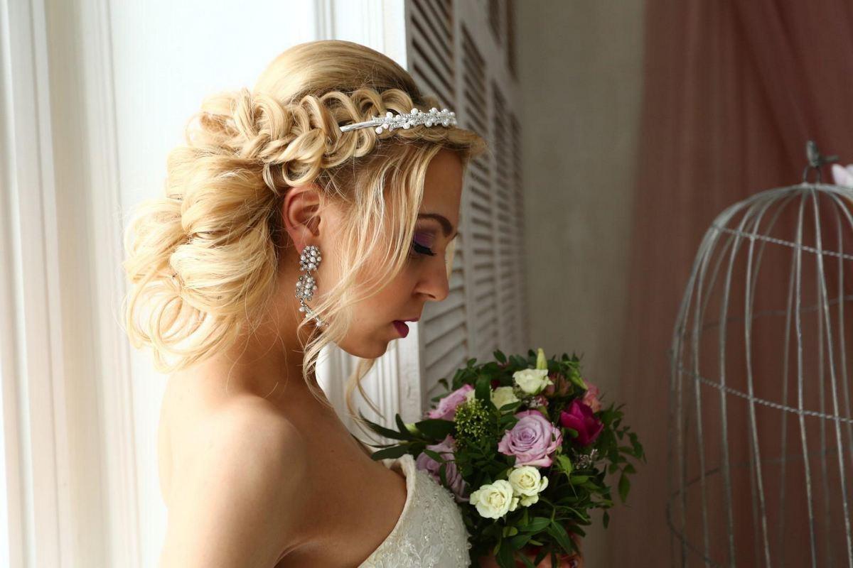 Свадебные косы с видео