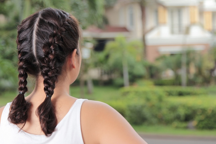 В косе волосы растут быстрее