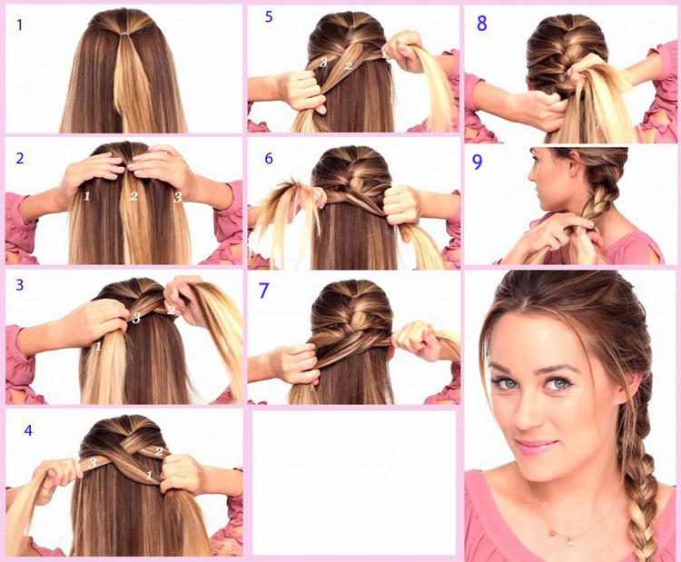 Как заплести косу быстро